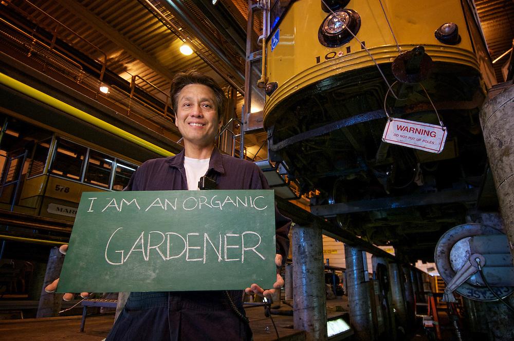 Patrick Louis, Beach Division Mechanic | I am an Organic Gardener | I am Muni.