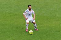 Jordan FERRI - 02.05.2015 - Lyon / Evian Thonon - 35eme journee de Ligue 1<br />Photo : Jean Paul Thomas / Icon Sport