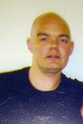 © Licensed to London News Pictures. 05/03/2012. Bolton, UK. Collect picture of Anthony Paul Grainger, 35, of Bolton, who died as a result of a single gunshot wound to the chest, during a police operation in Culcheth, Cheshire, on the evening of Saturday 3rd March 2012. Three men have been charged with conspiracy to commit robbery. The IPCC are investigating the death. An inquest is due to take place at Warrington Coroners Court today (5th March). Photo credit : LNP