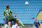Paul Robinson of AFC Wimbledon during the Sky Bet League 2 match between Carlisle United and AFC Wimbledon at Brunton Park, Carlisle, England on 22 August 2015. Photo by Stuart Butcher.