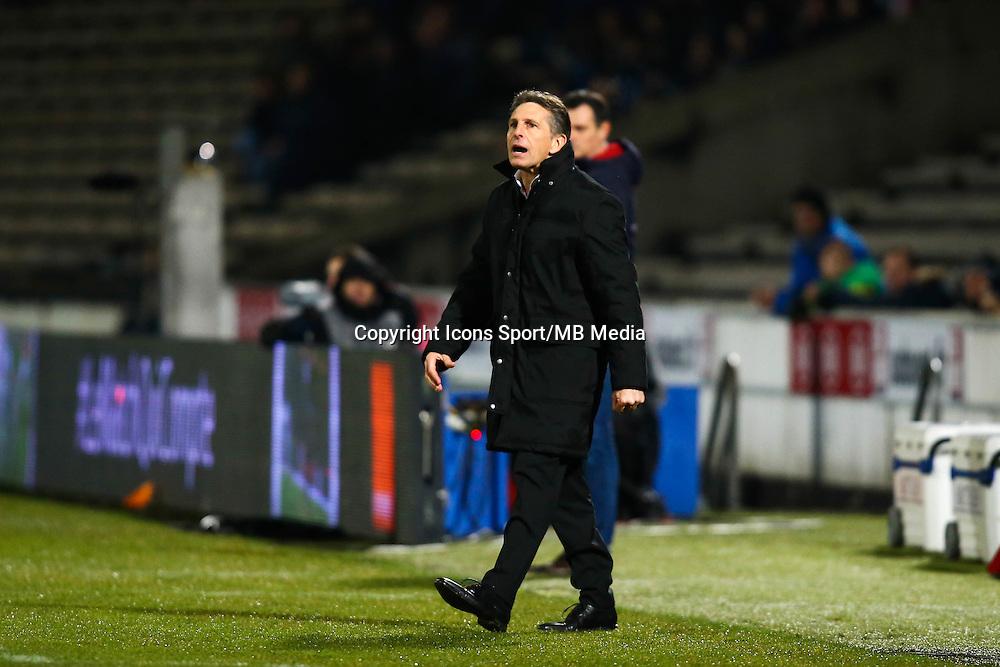 Claude Puel - 16.01.2015 - Bordeaux / Nice - 21e journee Ligue 1<br />Photo : Manuel Blondeau / Icon Sport