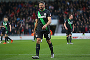 Stoke City forward Jonathan Walters  during the The FA Cup third round match between Doncaster Rovers and Stoke City at the Keepmoat Stadium, Doncaster, England on 9 January 2016. Photo by Simon Davies.