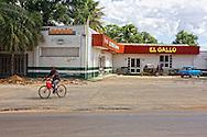 Gas station in Moron, Ciego de Avila, Cuba.