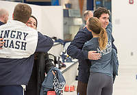Pingry alumni gathered to play squash at the Miller A. Bugliari '52 Athletic Center on the campus in Basking Ridge, NJ, on Friday, November 24, 2017./ Russ DeSantis Photography and Video, LLC