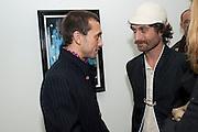 DAN MACMILLAN; KARTA HEALY, Nothing Matters. Damien Hirst exhibition. White Cube. Mason's Yard. London. 24 November 2009