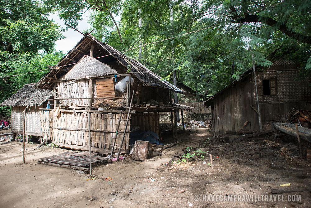 Myinkaba Village, a small local village that lies between Old Bagan and New Bagan in Myanmar.