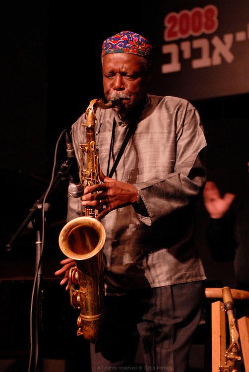 David Fathead Newman at Tel Aviv Jazz Festival