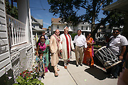 Photos from the wedding of Sherry and Stefan in Queens, New York. Many Indian ceremonies and customs abound. Also influences from Guayana.