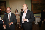 Lloyd Grossman and Nicholas Coleridge, Book launch of 'A Much Married Man' by Nicholas Coleridge. English Speaking Union. London. 4 May 2006. ONE TIME USE ONLY - DO NOT ARCHIVE  © Copyright Photograph by Dafydd Jones 66 Stockwell Park Rd. London SW9 0DA Tel 020 7733 0108 www.dafjones.com