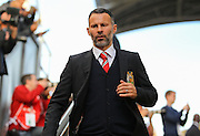 Ryan Giggs before the Barclays Premier League match between Crystal Palace and Manchester United at Selhurst Park, London, England on 31 October 2015. Photo by Phil Duncan.