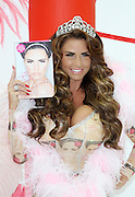22.OCTOBER.2013. LONDON<br /> <br /> (CODE - MH)<br /> KATIE PRICE AT LAUNCH OF HER NEW BOOK, 'LOVE, LIPSTICK AND LIES. THE WORX, LONDON<br /> <br /> BYLINE: EDBIMAGEARCHIVE.CO.UK<br /> <br /> *THIS IMAGE IS STRICTLY FOR UK NEWSPAPERS AND MAGAZINES ONLY*<br /> *FOR WORLD WIDE SALES AND WEB USE PLEASE CONTACT EDBIMAGEARCHIVE - 0208 954 5968*