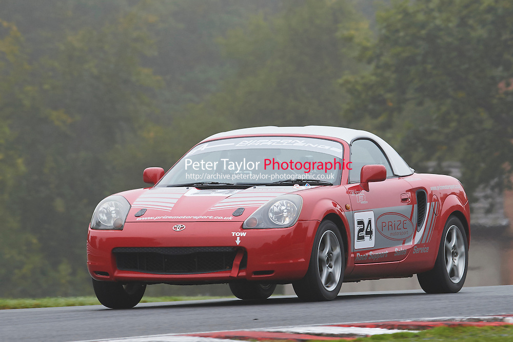 #24 Gareth NEWTON Toyota MR2 Mk3 during Nippon Challenge / Youririshshop.com MR2 Racing Series - Qualifying  as part of the BARC Championships Race Day at Oulton Park, Little Budworth, Cheshire, United Kingdom. October 03 2015. World Copyright Taylor/PSP. Copy of publication required for printed pictures.  Every used picture is fee-liable. http://archive.petertaylor-photographic.co.uk