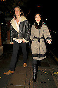 22.11.2006. LONDON<br /> <br /> KEIRA KNIGHTLEY AND RUPERT FRIEND VISIT OSTERIA BASILICO RESTAURANT ON PORTABELLO ROAD<br /> <br /> BYLINE: EDBIMAGEARCHIVE.CO.UK<br /> <br /> *THIS IMAGE IS STRICTLY FOR UK NEWSPAPERS AND MAGAZINES ONLY*<br /> *FOR WORLD WIDE SALES AND WEB USE PLEASE CONTACT EDBIMAGEARCHIVE.CO.UK - 0208 954 5968*
