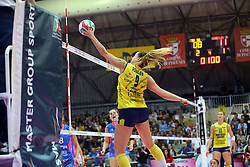 30-04-2016 ITA: Nordmeccanica Piacenza - Imoco Volley Conegliano, Piacenza<br /> Final play-offs, Piacenza brengt de stand terug naar 2-1 / ROBINSON KELSEY<br /> <br /> ***NETHERLANDS ONLY***