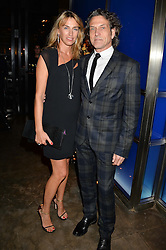 STEPHEN WEBSTER and ASSIA WEBSTER at a dinner hosted by Anya Hindmarch and Dylan Jones to celebrate the end London Collections: Men 2014 held at Hakkasan, 8 Hanway Place, London on 8th January 2014.