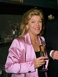 MRS KERRY PACKER wife of the Australian multi millionaire, at a reception in London on 22nd May 1997.       LYM 14 WOLO