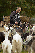 Hand soap production of goat's milk and olive oil photography by Piotr Gesicki