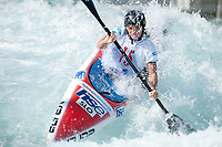 Eva Tercelj (SLO), Ladies K1 Class, Lee Valley White Water Centre, Waltham Abbey, England, Photo by: Peter Llewellyn