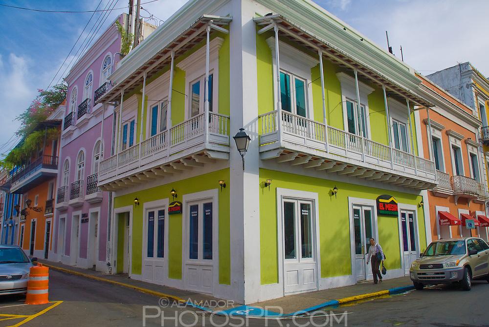 An Old San Juan Spanish style building