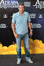 "26.08.2015, Kinepolis Cinema, Madrid, ESP, Atrapa la Bandera, Premiere, im Bild Host Nico Abad attends to the photocall // during the premiere of spanish cartoon 'Capture The Flag"" at the Kinepolis Cinema in Madrid, Spain on 2015/08/26. EXPA Pictures © 2015, PhotoCredit: EXPA/ Alterphotos/ BorjaB.hojas<br /> <br /> *****ATTENTION - OUT of ESP, SUI*****"