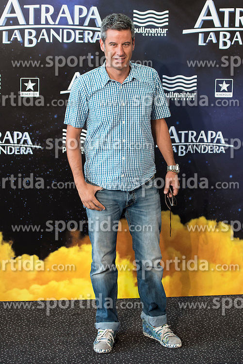 26.08.2015, Kinepolis Cinema, Madrid, ESP, Atrapa la Bandera, Premiere, im Bild Host Nico Abad attends to the photocall // during the premiere of spanish cartoon 'Capture The Flag&quot; at the Kinepolis Cinema in Madrid, Spain on 2015/08/26. EXPA Pictures &copy; 2015, PhotoCredit: EXPA/ Alterphotos/ BorjaB.hojas<br /> <br /> *****ATTENTION - OUT of ESP, SUI*****