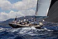 SPAIN, Palma. 22nd June 2013. Superyacht Cup. Tulip, 88ft/(26.6m), designed by German Frers, built by K&M Boatbuilders.