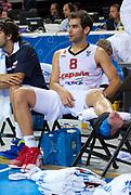 DESCRIZIONE : Kaunas Lithuania Lituania Eurobasket Men 2011 Quarter Final Round Spagna Slovenia Spain Slovenia<br /> GIOCATORE : Jose Calderon<br /> CATEGORIA : delusione<br /> SQUADRA : Spagna Spain<br /> EVENTO : Eurobasket Men 2011<br /> GARA : Spagna Slovenia Spain Slovenia<br /> DATA : 14/09/2011<br /> SPORT : Pallacanestro <br /> AUTORE : Agenzia Ciamillo-Castoria/T.Wiendesohler<br /> Galleria : Eurobasket Men 2011<br /> Fotonotizia : Kaunas Lithuania Lituania Eurobasket Men 2011 Quarter Final Round Spagna Slovenia Spain Slovenia<br /> Predefinita :