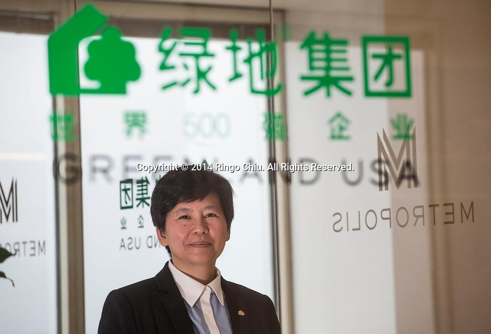 I Fei Chang, CEO of Greenland USA.<br /> (Photo by Ringo Chiu/PHOTOFORMULA.com)