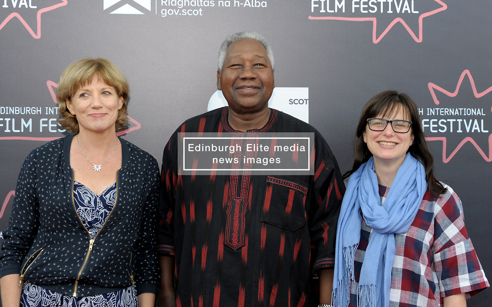 Edinburgh International Film Festival, Thursday, 21st June 2018<br /> <br /> Jury Photocall<br /> <br /> Pictured: Kate Muir, Gaston Kabore and Nada Cirjanic of the Documentary jury<br /> <br /> (c) Alex Todd | Edinburgh Elite media