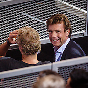 NLD/Hilversum/20160129 - Finale The Voice of Holland 2016, Erland Galjaard in gesprek met John de Mol