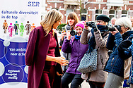 Queen Maxima attends the Social and Economic Council meeting<br /> 29 Jan 2019 ROBIN UTRECHT