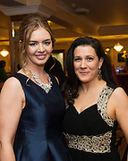 At the SCSI, (Society of Chartered Surveyors Ireland) - Western Region Annual Dinner 2016 in the Ardilaun Hotel Galway wereKaren Flanagan DTZ  Sherry Fitzgerald and and Rachel Byrne DTZ  Sherry Fitzgerald. Photo:Andrew Downes, xpousre