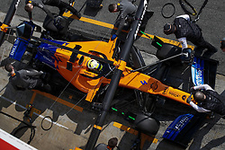 February 21, 2019 - Barcelona Barcelona, Espagne Spain - NORRIS Lando (gbr), McLaren Renault F1 MCL34, action pitstop during Formula 1 winter tests from February 18 to 21, 2019 at Barcelona, Spain - Photo  Motorsports: FIA Formula One World Championship 2019, Test in Barcelona, (Credit Image: © Hoch Zwei via ZUMA Wire)