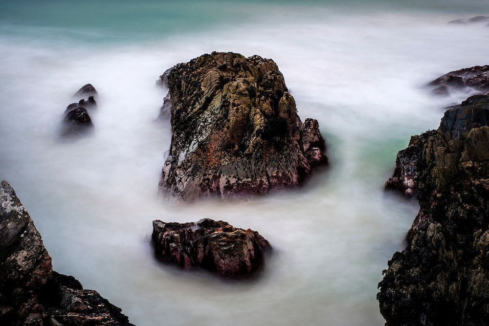 LEWIS AND HARRIS, SCOTLAND - CIRCA APRIL 2016: Ocean and beaches on the outer islands of Lewis and Harris in Scotland.