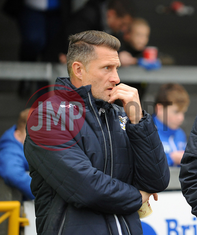 Bristol Rovers development coach Chris Hargreaves - Mandatory by-line: Neil Brookman/JMP - 18/11/2017 - FOOTBALL - Memorial Stadium - Bristol, England - Bristol Rovers v AFC Wimbledon - Sky Bet League One