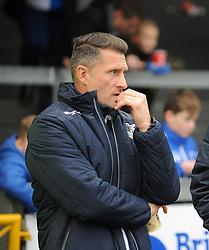 Bristol Rovers development coach Chris Hargreaves - Mandatory by-line: Neil Brookman/JMP - 18/11/2017 - FOOTBALL - Memorial Stadium - Bristol, England - Bristol Rovers v AFC Wimbledon - Sky Bet League One