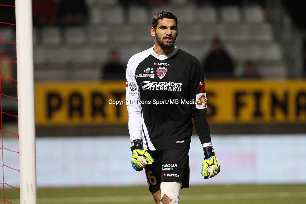 Mehdi JEANNIN - 19.12.2014 - Nancy / Clermont - 18e journee Ligue 2<br />