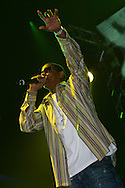 Jay Z at the Prince's Trust Urban Music Festival at Earls Court in London.