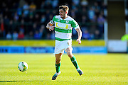 Yeovil Town's Ryan Dickson during the Sky Bet League 2 match between Yeovil Town and Carlisle United at Huish Park, Yeovil, England on 25 March 2016. Photo by Graham Hunt.