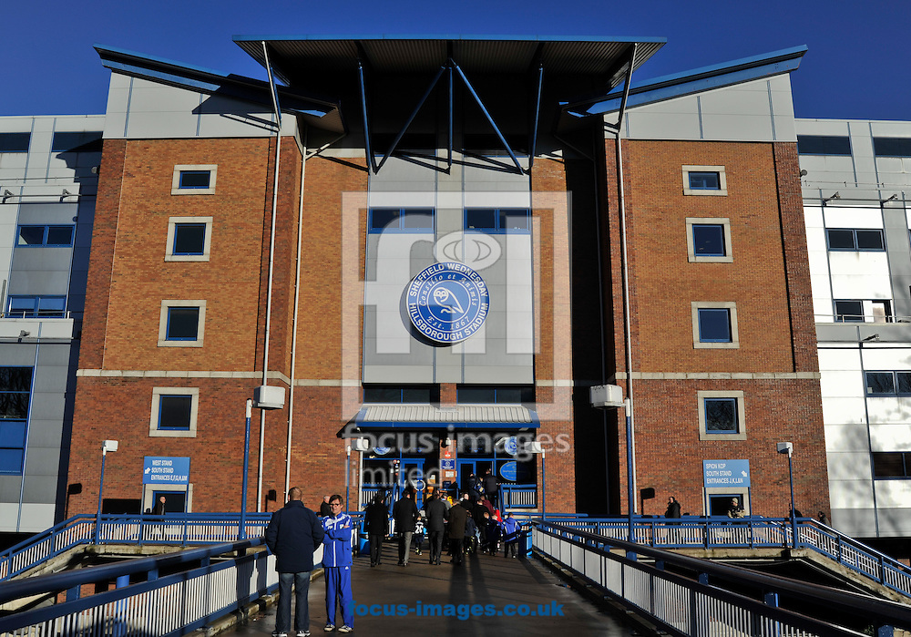 Picture by Richard Land/Focus Images Ltd +44 7713 507003<br /> 11/01/2014<br /> A General view of Hillsborough Stadium ahead of the Sky Bet Championship match at Hillsborough, Sheffield.