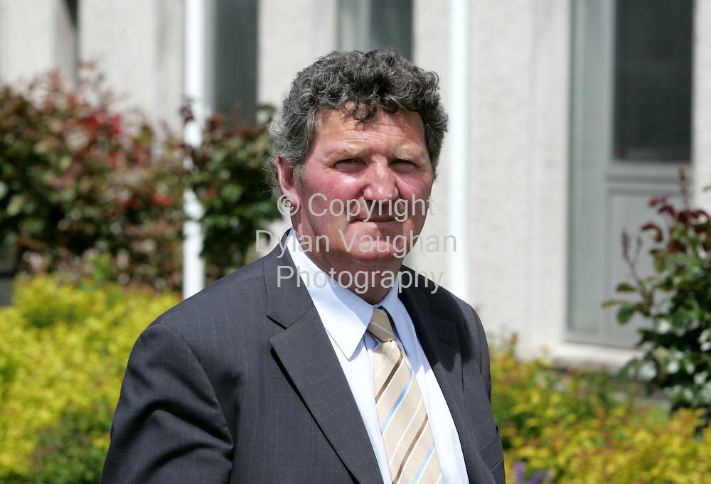 29/5/2006.John Fleury pictured at the court in Dungarvan yesterday at the Waterford Civic Offices..Picture Dylan Vaughan
