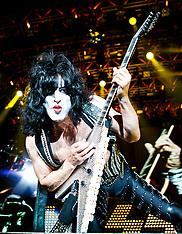 Kiss in concert, Birmingham