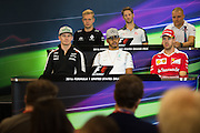 October 20, 2016: United States Grand Prix. Nico Hulkenberg (GER), Force India, Lewis Hamilton (GBR), Mercedes, Sebastian Vettel (GER), Ferrari, Kevin Magnussen, (DEN) Renault , Romain Grosjean (FRA), Haas, Valtteri Bottas (FIN), Williams Martini Racing