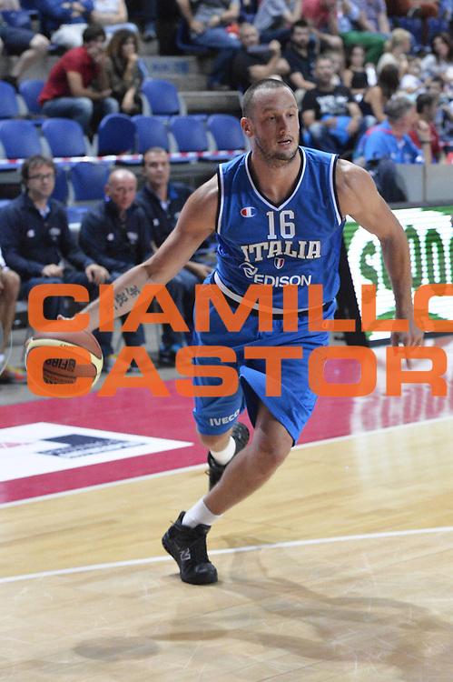 DESCRIZIONE : Anversa European Basketball Tour Antwerp 2013 Italia Israele Italy Israel<br /> GIOCATORE : Guido Rosselli<br /> CATEGORIA : palleggio<br /> SQUADRA : Nazionale Italia Maschile Uomini<br /> EVENTO : European Basketball Tour Antwerp 2013 <br /> GARA : Italia Israele Italy Israel<br /> DATA : 18/08/2013<br /> SPORT : Pallacanestro<br /> AUTORE : Agenzia Ciamillo-Castoria/GiulioCiamillo<br /> Galleria : FIP Nazionali 2013<br /> Fotonotizia : Anversa European Basketball Tour Antwerp 2013 Italia Israele Italy Israel<br /> Predefinita :