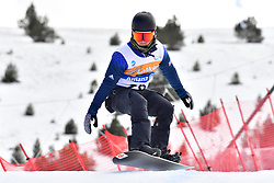 PICK Owen, SB-LL2, GBR, Banked Slalom at the WPSB_2019 Para Snowboard World Cup, La Molina, Spain