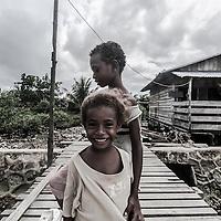 Where; Papua, Indonesia. What a cute smile!