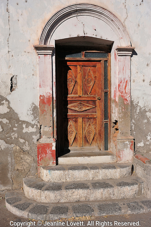 Old door way