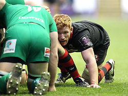 Edinburgh's Roddy Grant - Photo mandatory by-line: Robbie Stephenson/JMP - Mobile: 07966 386802 - 05/04/2015 - SPORT - Rugby - Reading - Madejski Stadium - London Irish v Edinburgh Rugby - European Rugby Challenge Cup