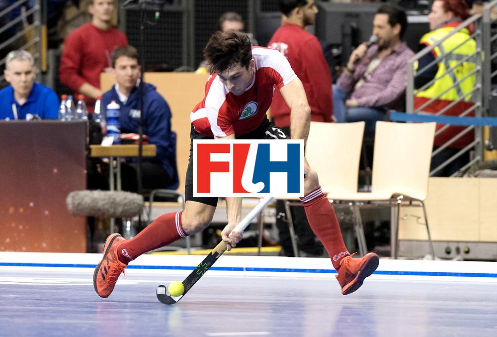 BERLIN - Indoor Hockey World Cup<br /> Semi-final 2: Australia - Austria<br /> foto: Benjamin Stanzl.<br /> WORLDSPORTPICS COPYRIGHT FRANK UIJLENBROEK