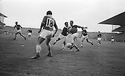 Kerry players fight desperately for another point during the All Ireland Senior Gaelic Football Final Kerry v. Galway in Croke Park on the 26th September 1965.